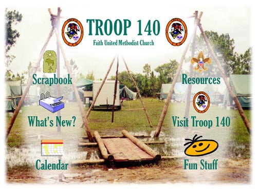 Boy Scout Troop 140's Web Site image map
